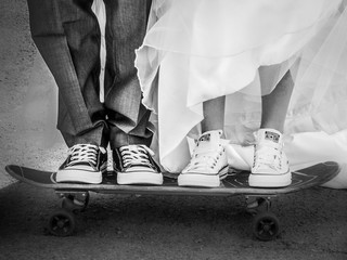 Skater Surfer Wedding Photography