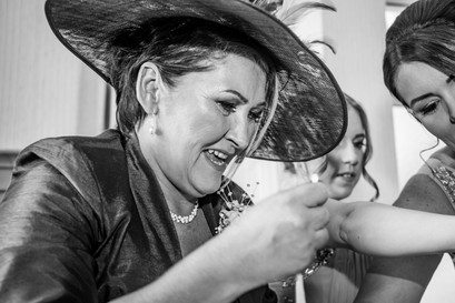 Natural Wedding Photography in Swansea, Carmarthen and The Gower of Mother