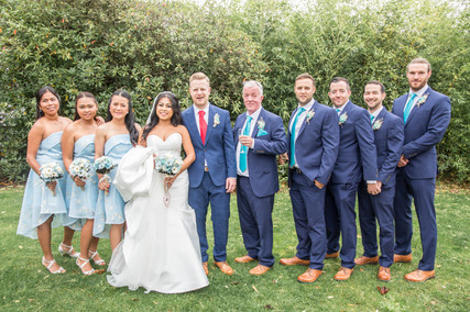 Formal Wedding Photo at the Beaulieu Hotel