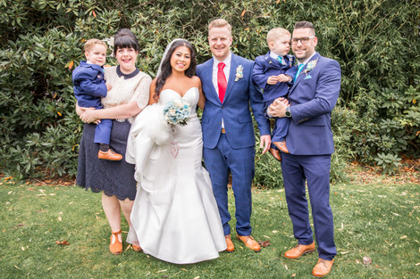 Family Wedding Photography in the New Forest