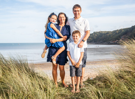 Oxwich Bay Family Photographer: Summer - Sunset / Photo Session