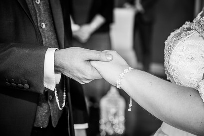 Wedding Photography Ring Ceremony in Swansea, Carmarthenshire, The Gower and South Wales