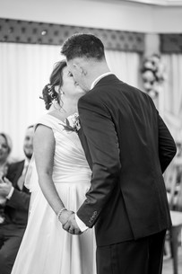 swansea civic centre wedding photographer in black and white