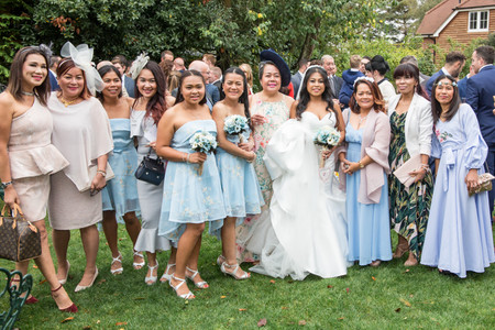 Thai Wedding Dress and party in Southampton and New Forest