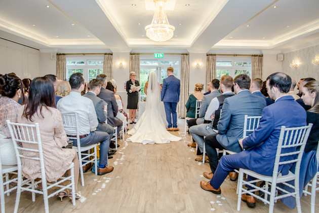 Wedding Photography at Beaulieu Hotel, New Forest