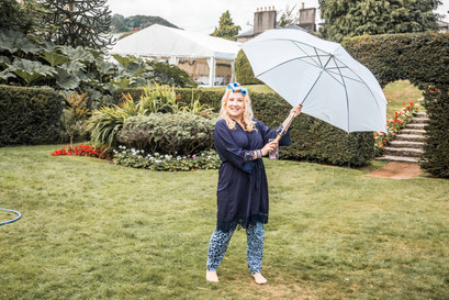Wedding umbrella photography in Swansea and Cardiff
