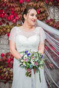 Wedding dress and flowers in Swansea and South Wales