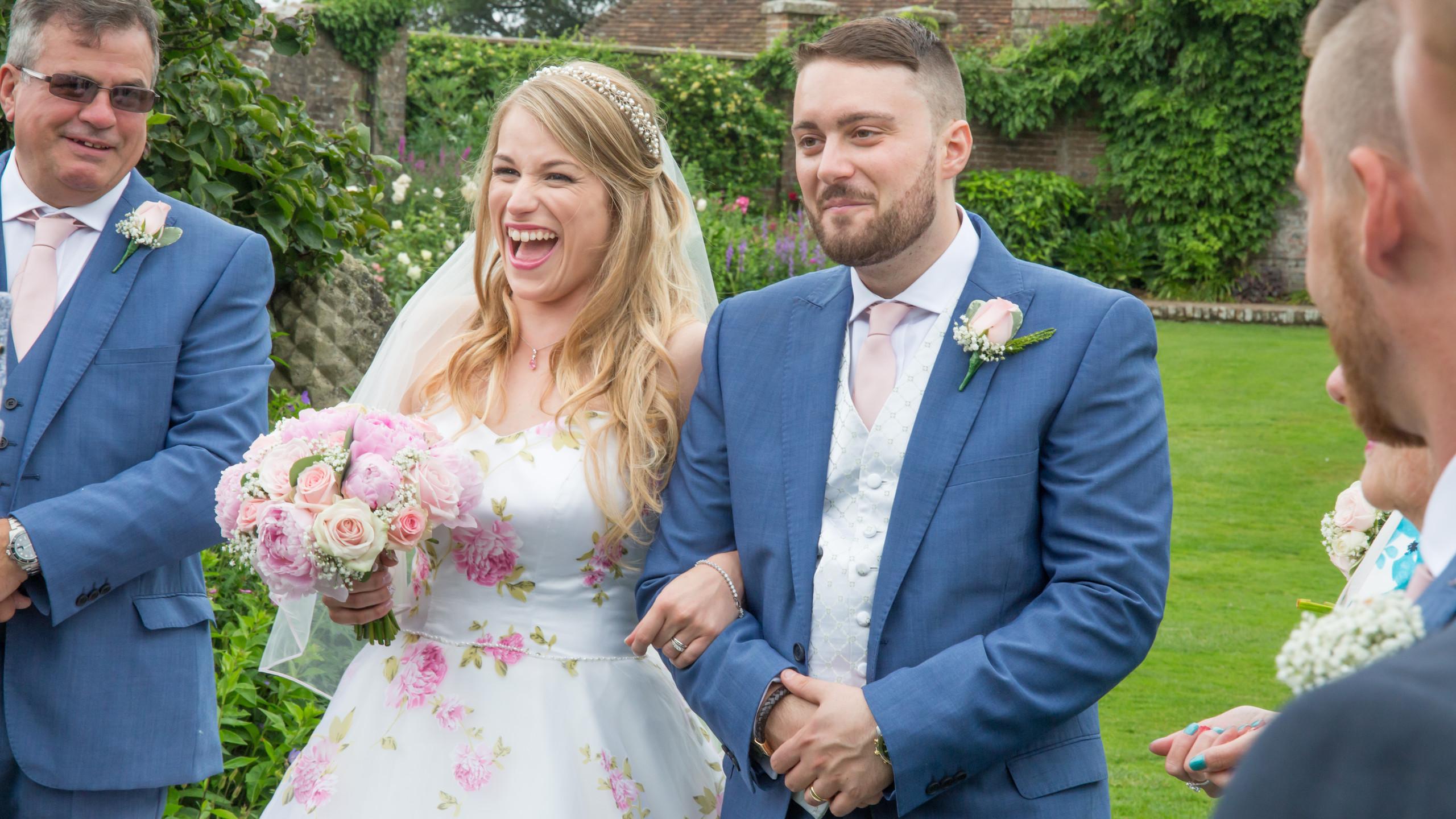 Confetti Parley Manor Christchurch Wedding Photography