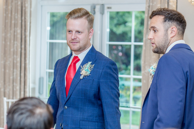 Groom Wedding Photography 2020 New Forest