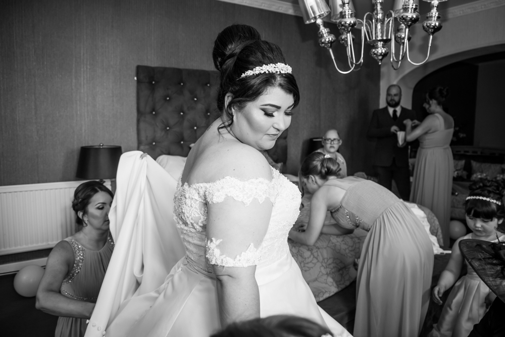 Bride's Gaze Photography Moment Natural Wedding Photography in Swansea, Carmarthen and The Gower