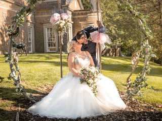 Wedding Photography at De Courceys Manor, Cardiff