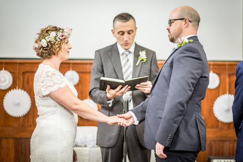 Documentary style wedding photographer in Swansea