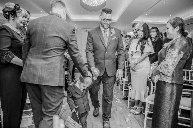 Wedding Ceremony at the Beaulieu Hotel in the New Forest