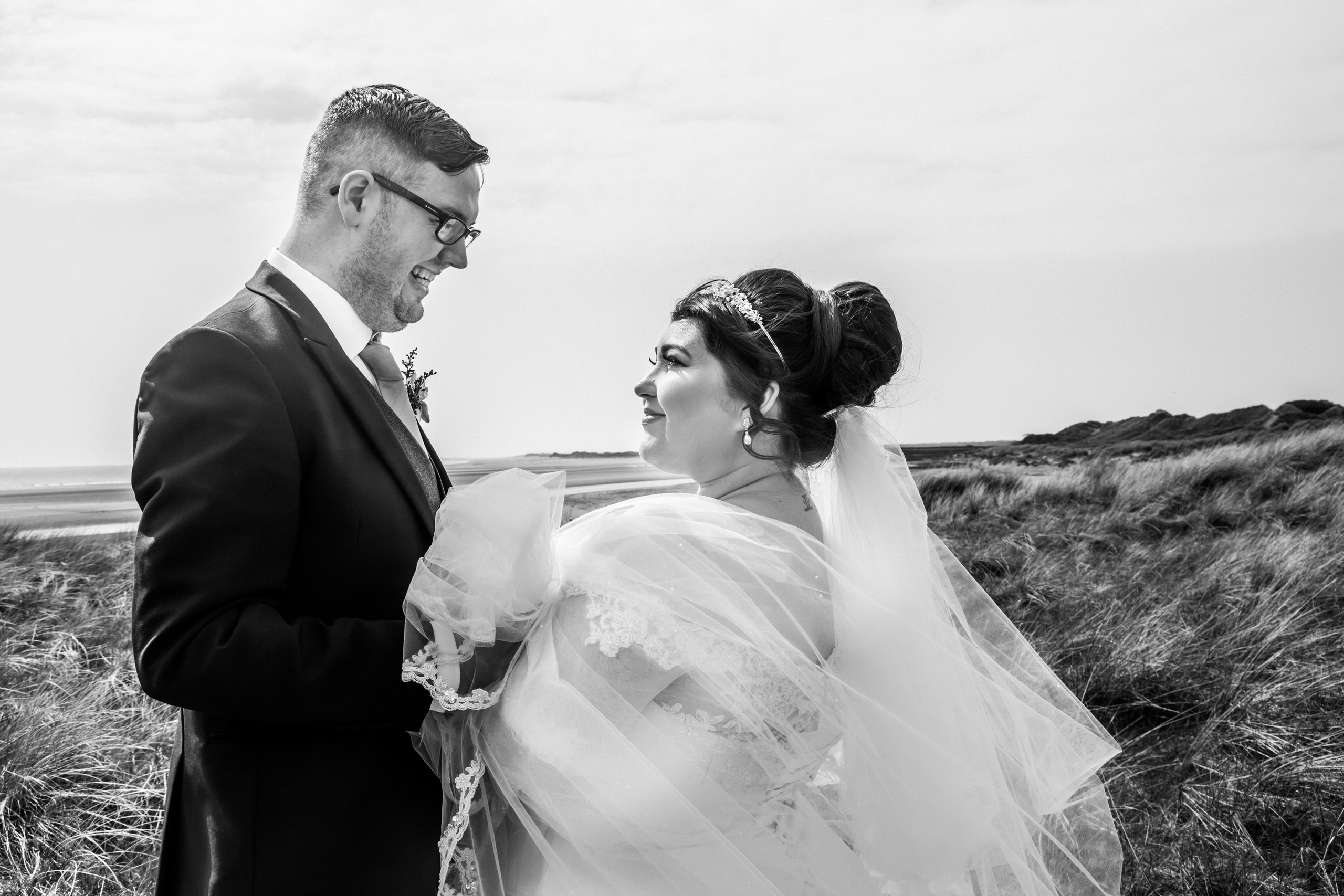 Bride and Groom Photography with the Gower and Swansea Beach