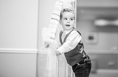 Little People at weddings photography of beaulieu hotel new forest