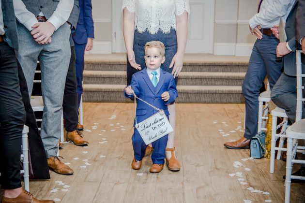 Wedding Photography Blue Pageboy New Forest