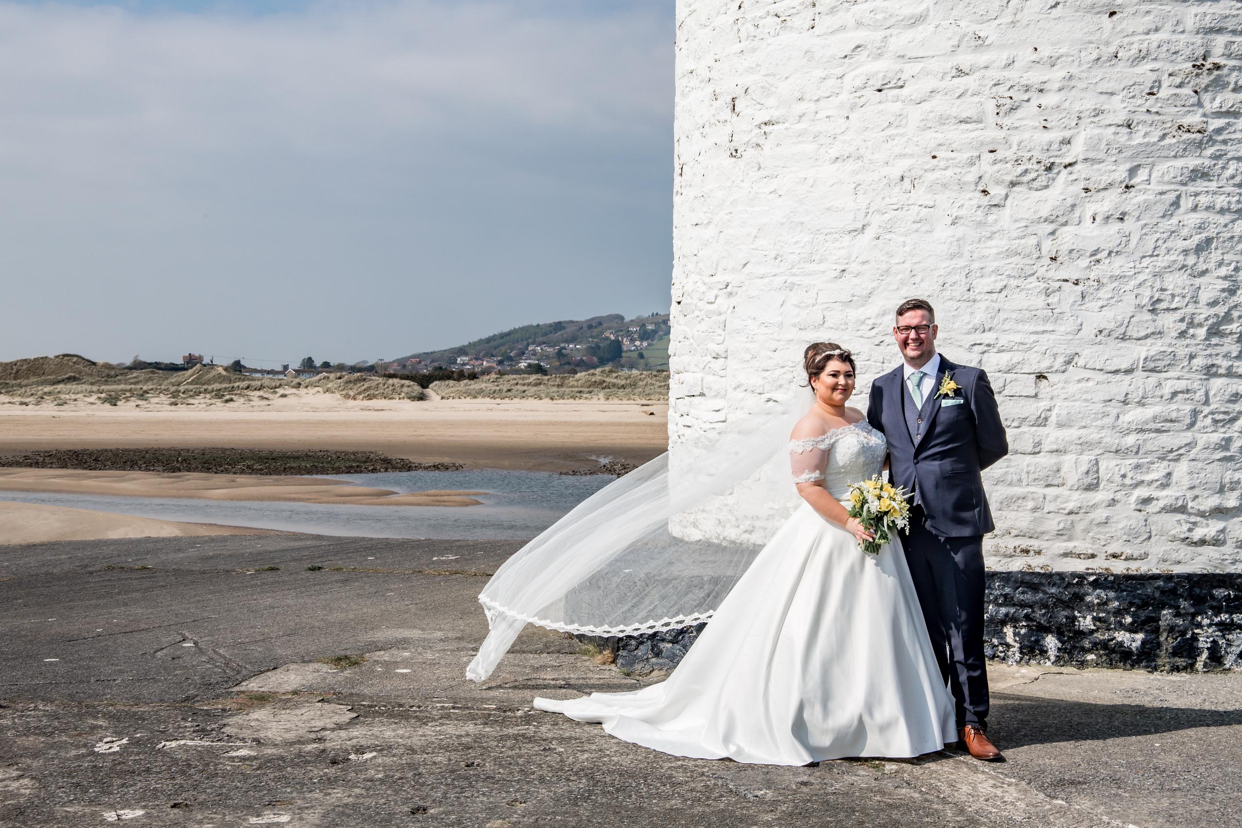 Burry Port Wedding Photography near the Gower and Swansea Beach