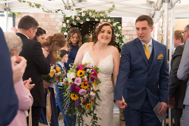 Newly Weds Wedding Photography in Swansea and the Gower