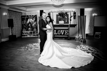 DJ Martin Lake Roadshow New Forest Wedding Photography Beaulieu Hotel