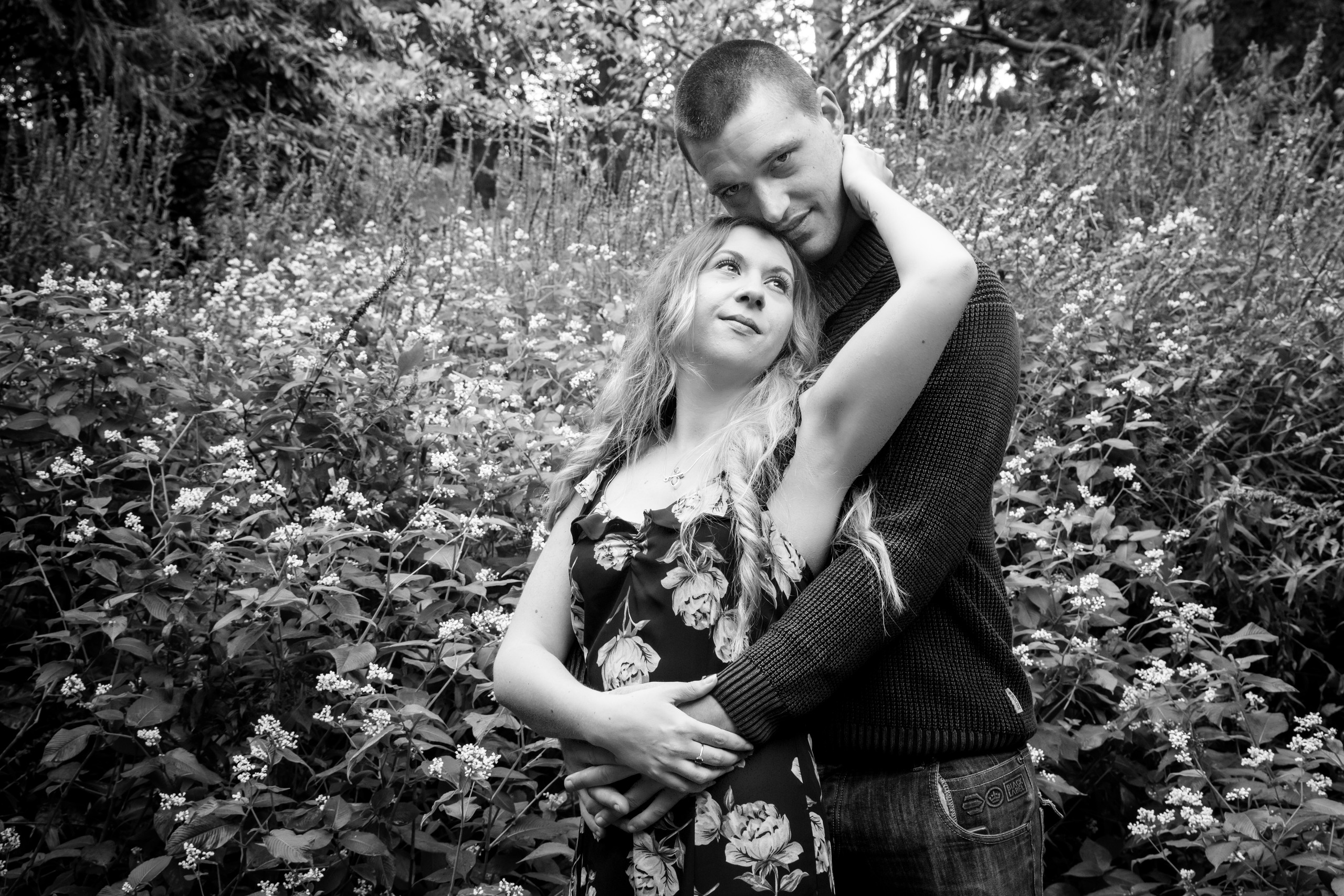 Engagement Photography at Clyne Gardens, Swansea