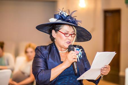Mother of Bride Speech at Stradey Park Hotel Wedding Photography