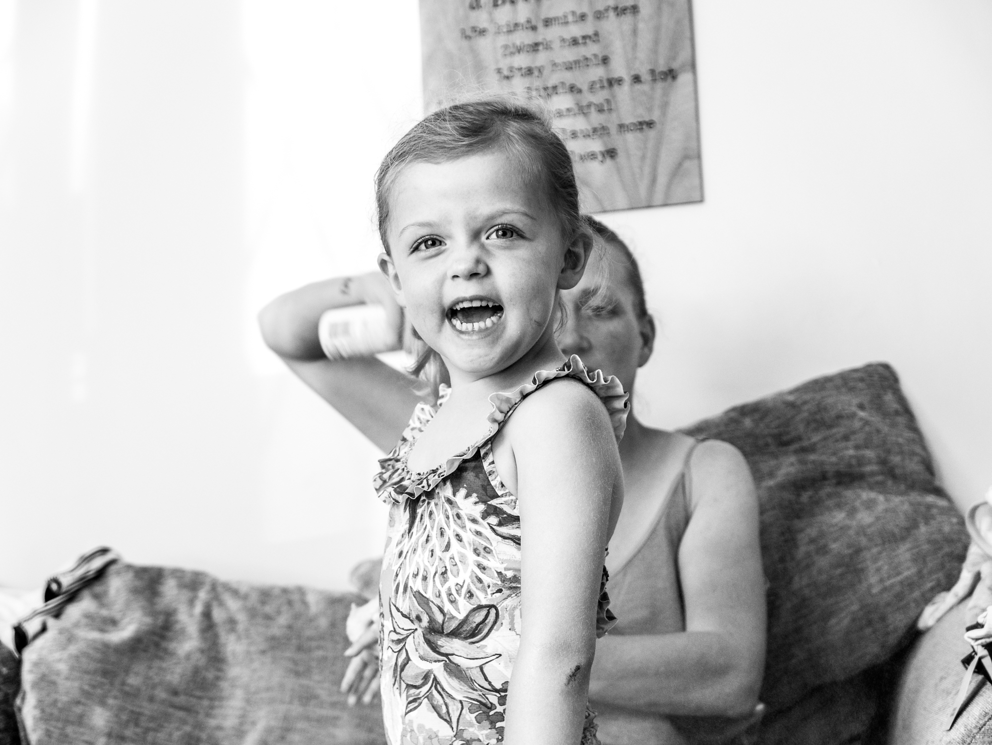 Candid childrens photography in Swansea and South Wales