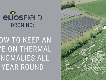 EliosField Dronino: How to Keep an Eye On Thermal Anomalies All Year Round