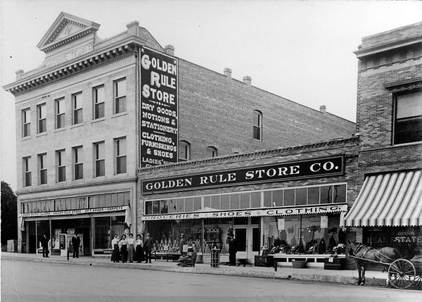 1910 golden rule store north greenleaf whittier masonic temple