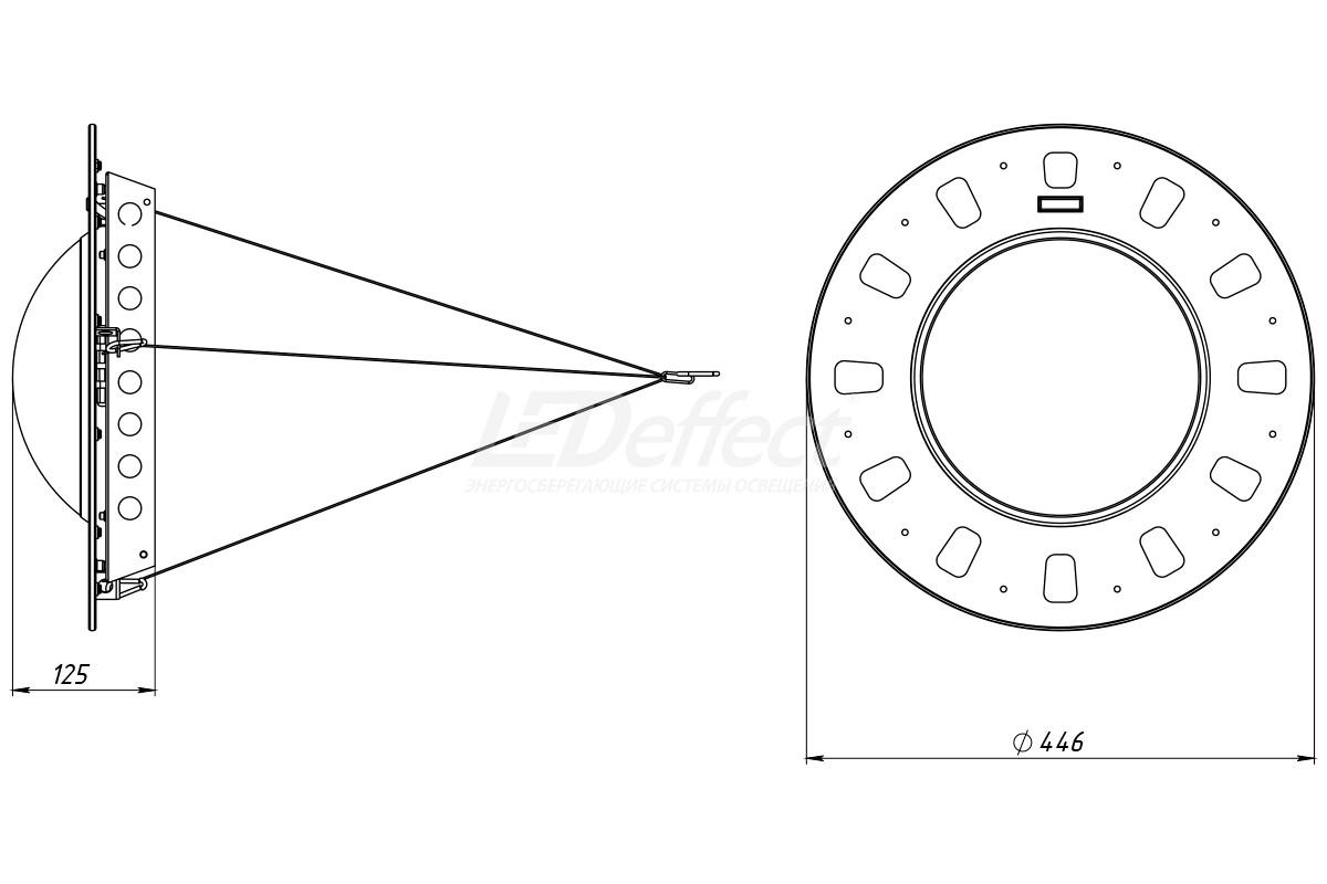 KEDR Bubble чертеж