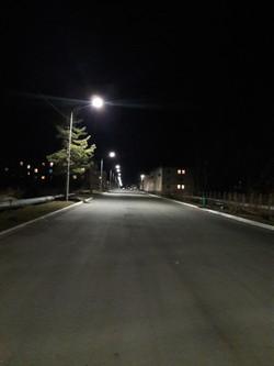 ПГТ Ярославка. Наружное освещение