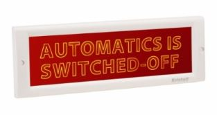 Automatics is switched-off
