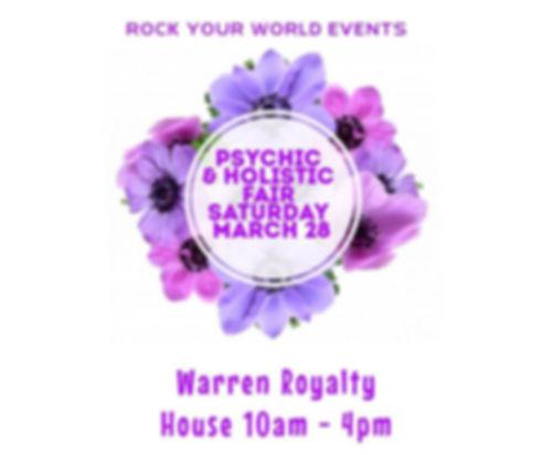 Rock Your World Spring Psychic & Holisti
