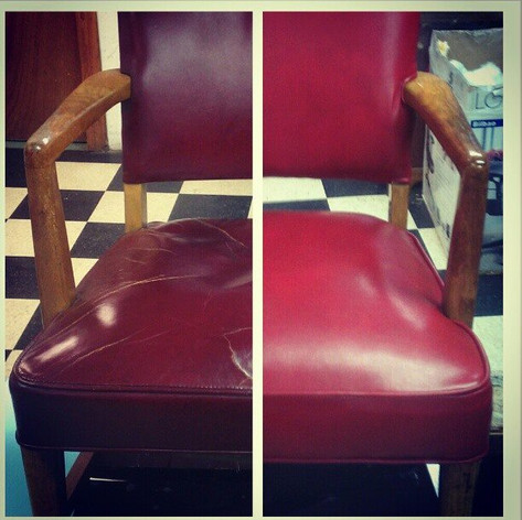 Office Chair Before/After