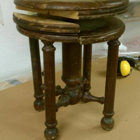 Piano Stool (Before)