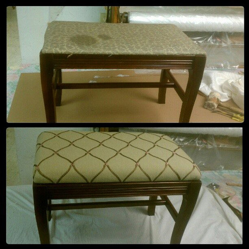 Piano Bench Before/After