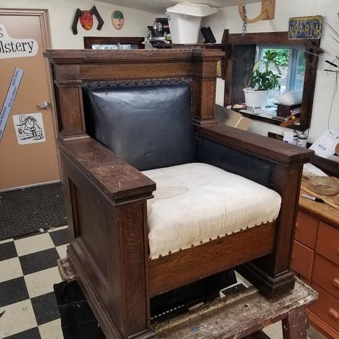 Masonic Chair (Before)