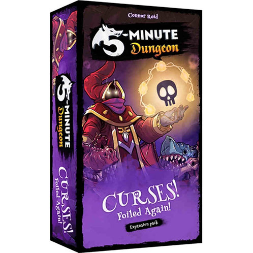 5 MINUTE DUNGEON: CURSES, FOILED AGAIN! EXPANSION