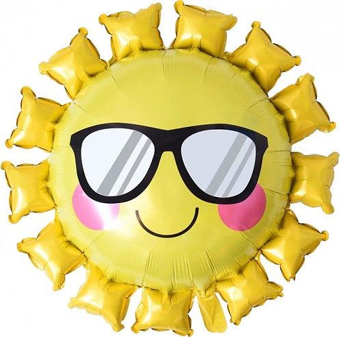 """Шар """"Солнышко желтое"""", 86 см"""