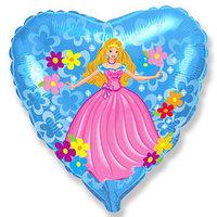 """Сердце """"Принцесса"""", 45 см"""