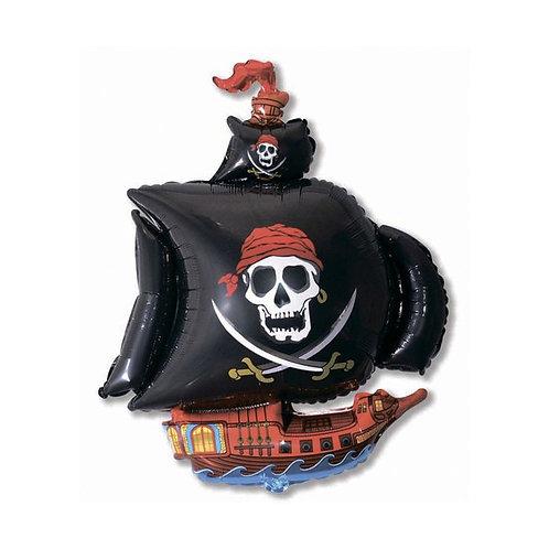 "Шар ""Корабль пиратский"", 68 см"