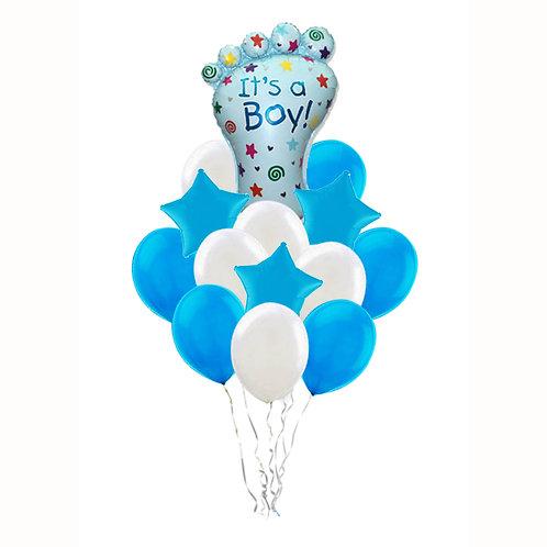 Фонтан шаров для мальчика №107