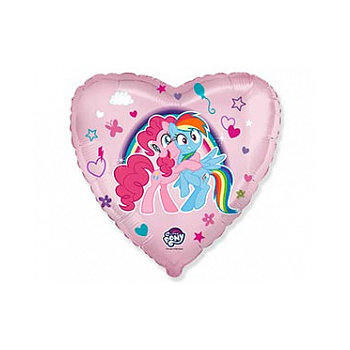 "Сердце ""Пони объятия"", 45 см"