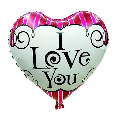 """Сердце """"I love you"""", 45 см"""