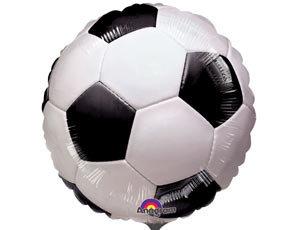 """Круг """"Футбольный мяч, белый"""", 45 см"""