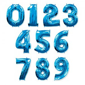 """102см  """"Цифра""""синий"""
