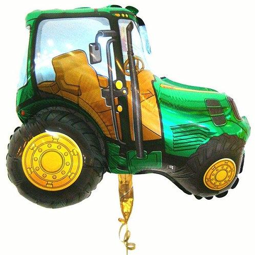 "Шар ""Трактор зеленый"", 75*92 см"