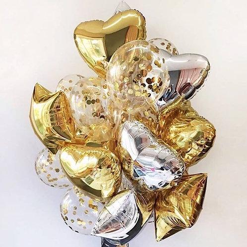 Фонтан шаров «Luxury» №119