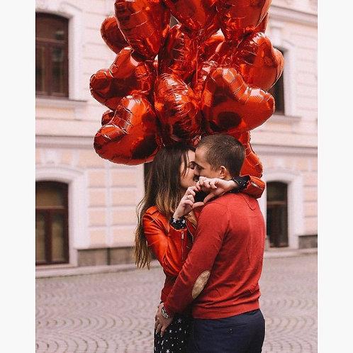 """Облако сердец """"Love"""" №124"""
