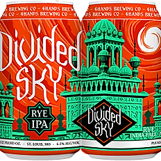 4 hands Brewery Divided Sky