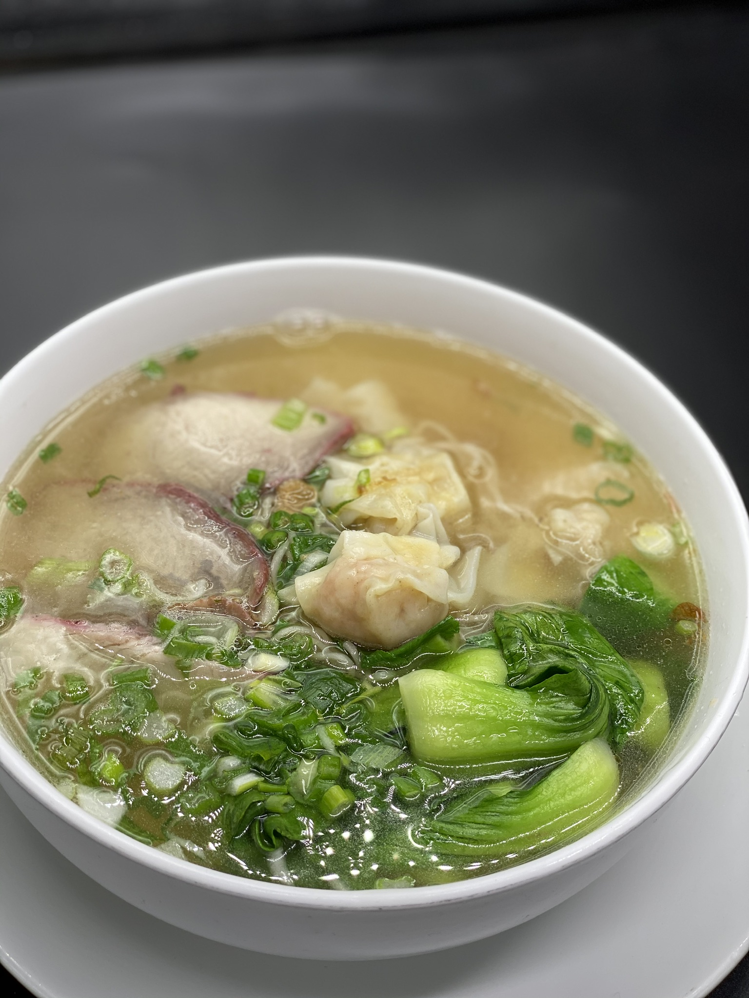 Wonton Egg Noodle Soup